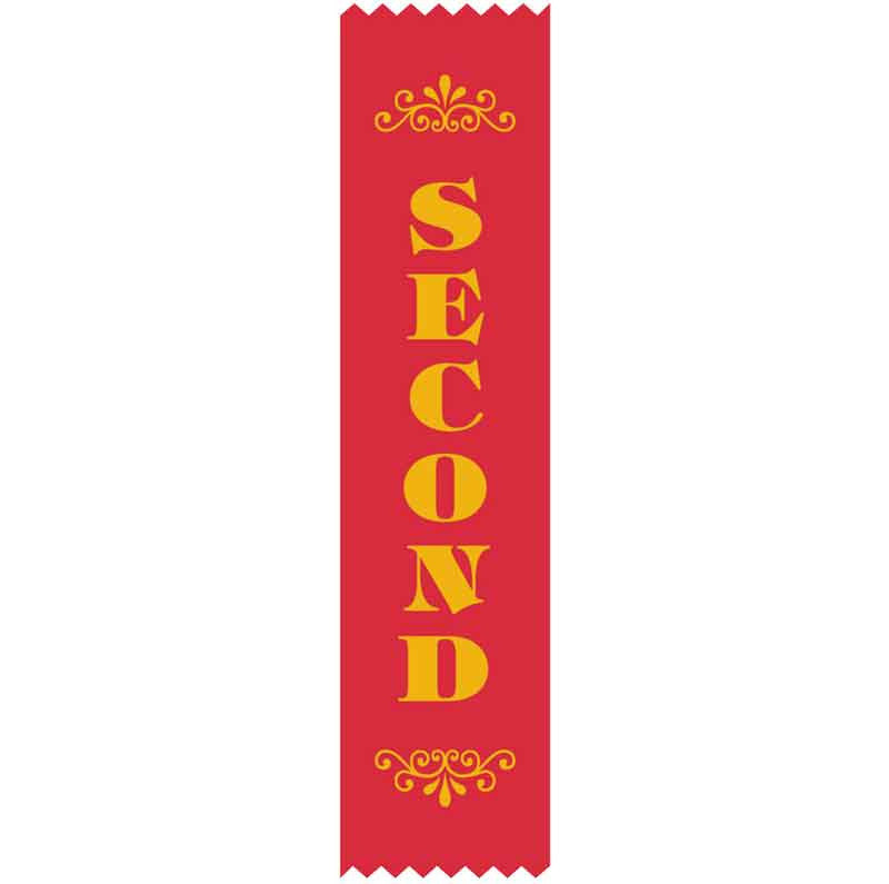 SR9 2nd Place Satin Ribbon