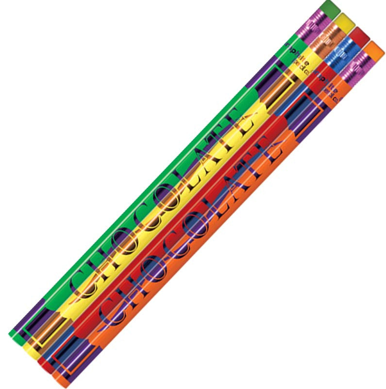 #P813 / #P814 Chocolate Scented Lead Pencils