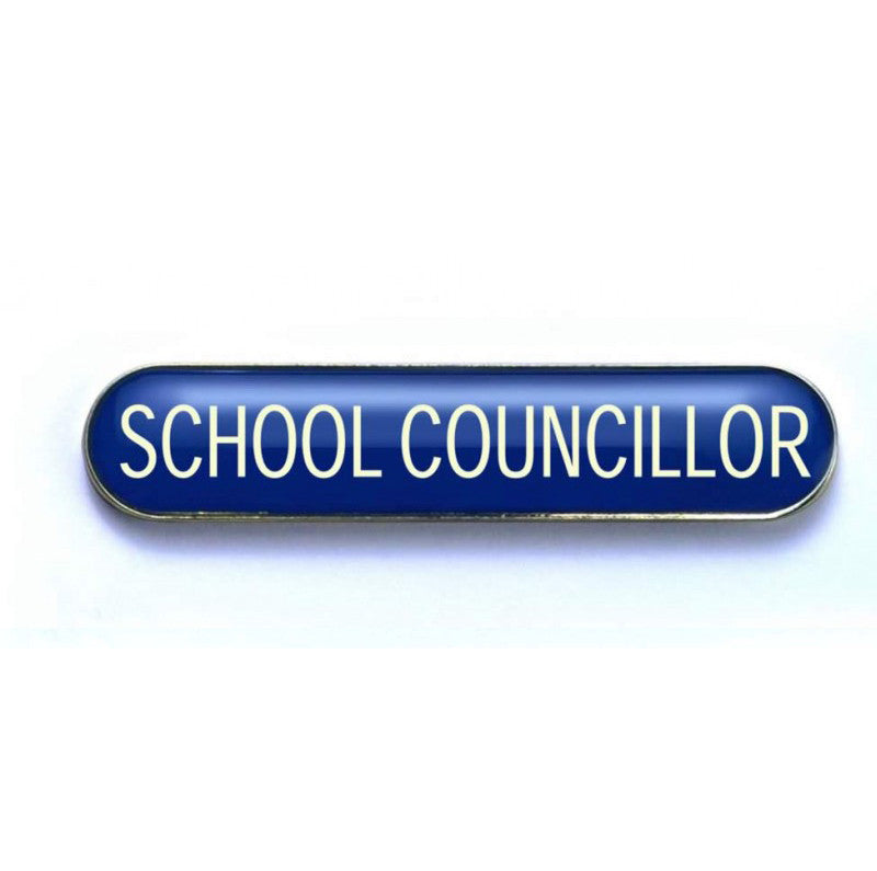 #E257 School Councillor Enamel Badges - pack of 5
