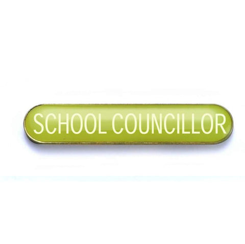 #E259 School Councillor Enamel Badges - pack of 5