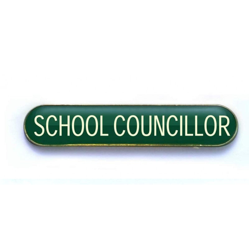 #E260 School Councillor Enamel Badges - pack of 5