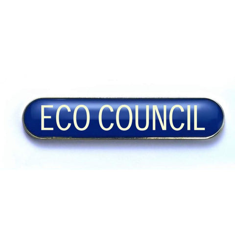 #E277 Eco Council Enamel Badges - pack of 5