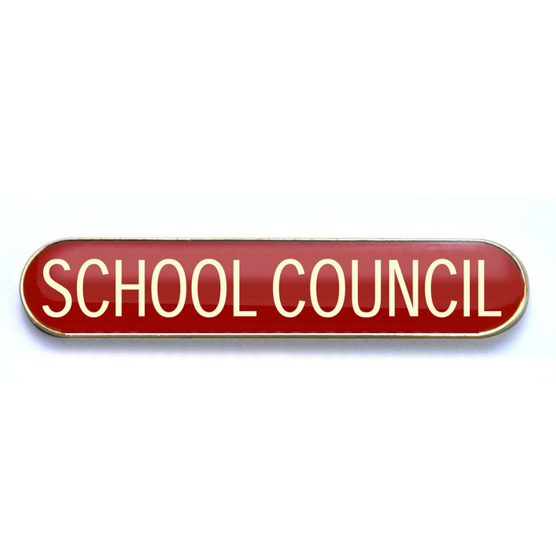 #E58 School Council Enamel Badges - pack of 5