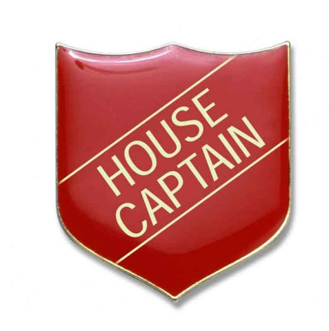 #E10 House Captain Enamel Badges - pack of 5