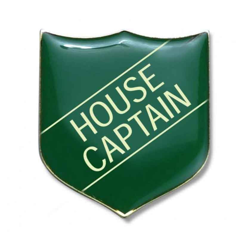 #E12 House Captain Enamel Badges - pack of 5