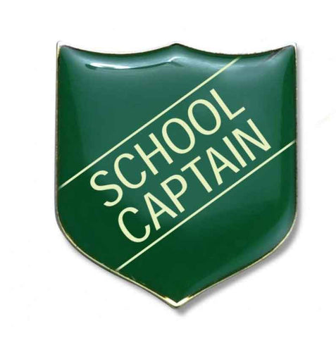 #E16 School Captain Enamel Badges - pack of 5
