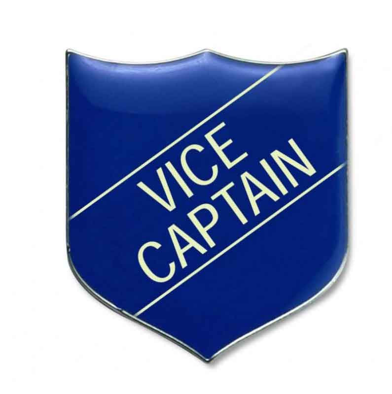 #E209 Vice Captain Enamel Badges- pack of 5