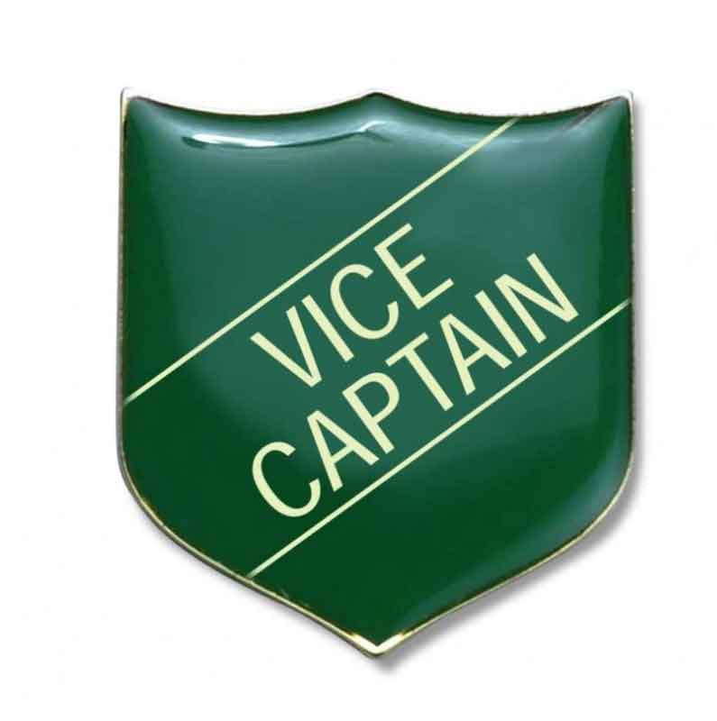 #E212 Vice Captain Enamel Badges- pack of 5