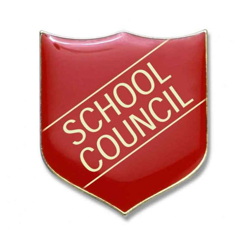 #E214 School Council Enamel Badges - pack of 5