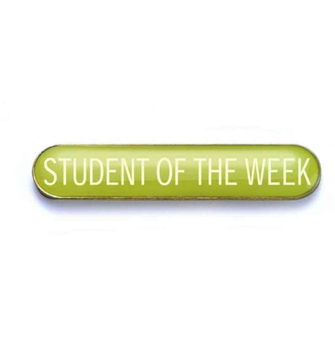 #E51 Student of the Week Enamel Badges - pack of 5