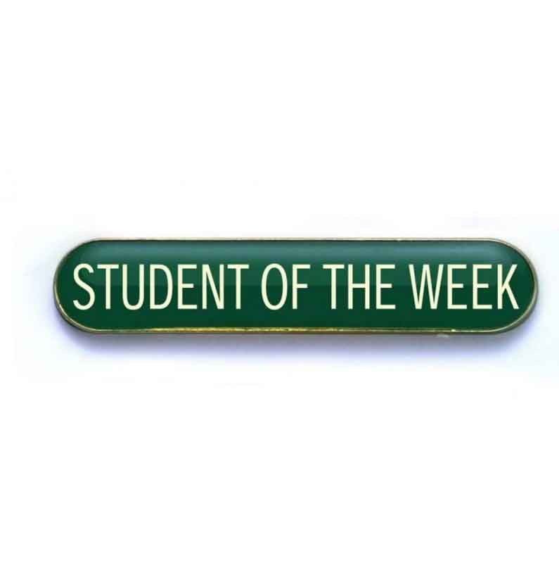 #E52 Student of the Week Enamel Badges - pack of 5