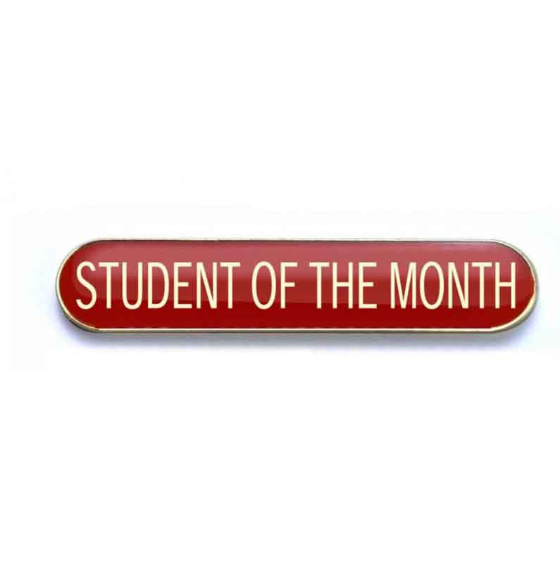 #E54 Student of the Month Enamel Badges - pack of 5
