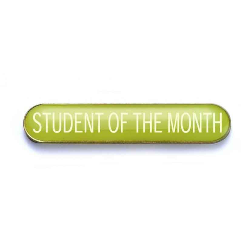 #E55 Student of the Month Enamel Badges - pack of 5