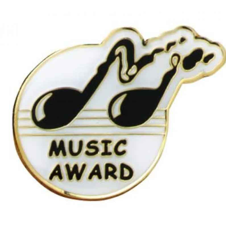 #E85 Music Award Enamel Badges