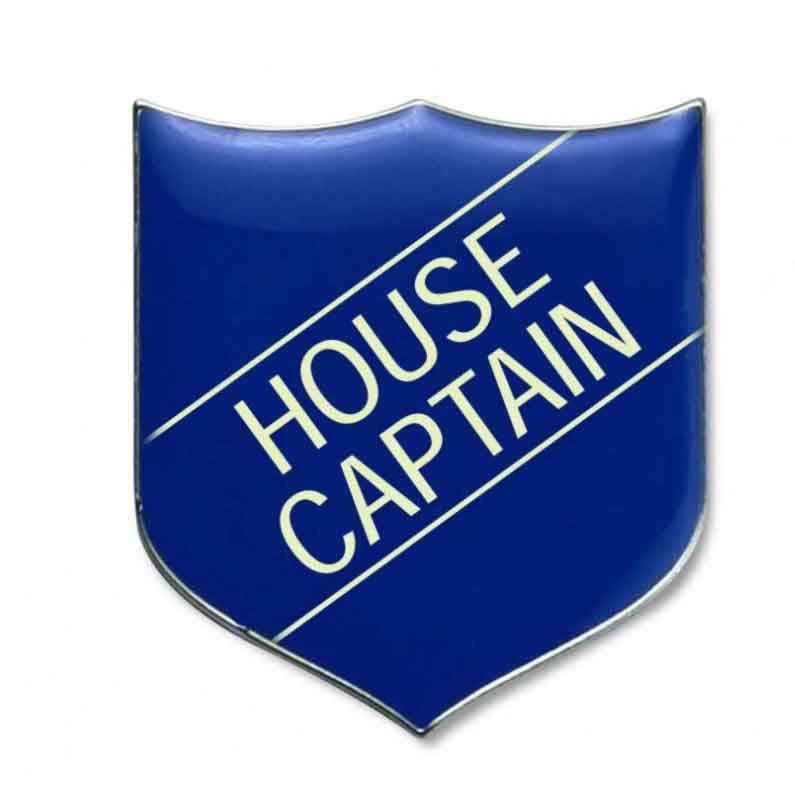 #E9 House Captain Enamel Badges - pack of 5