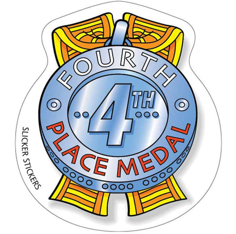 #264 4th Place Medal Stickers