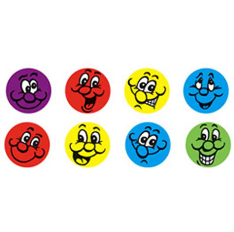 #249 Smiley Faces Chart Seal Stickers Multipack