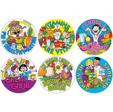 #308 Healthy Eating Stickers Multipack