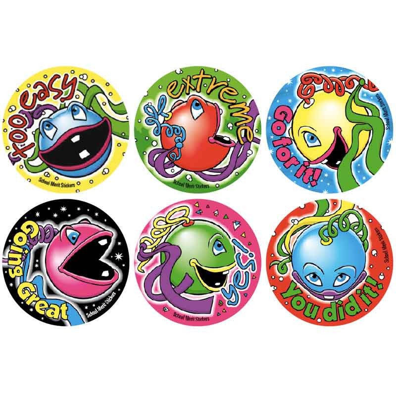 #377 Sea Creature Stickers Multipack