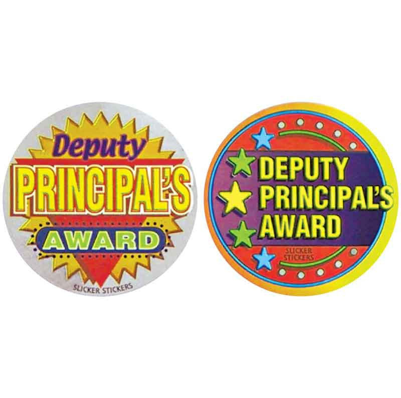 #577 Deputy Principal's Award Metallic Stickers Multipack