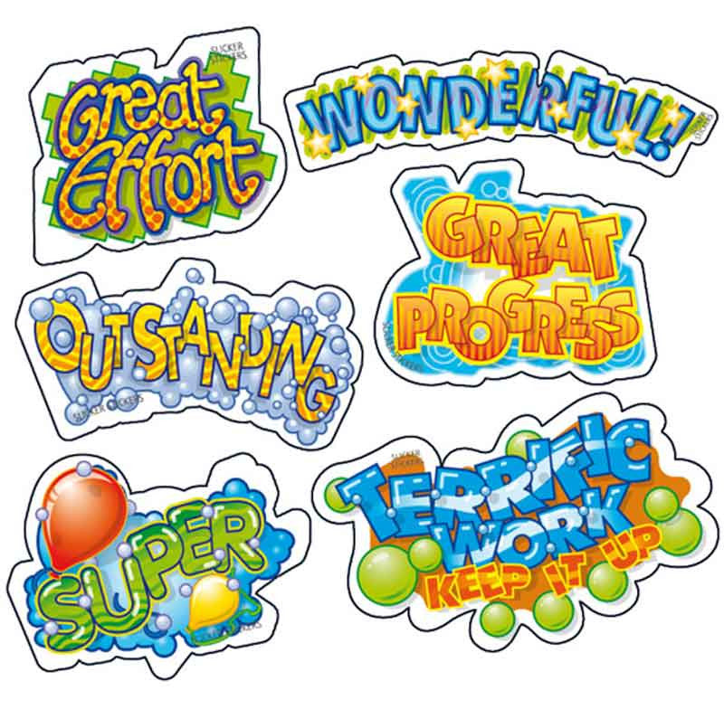 #663 Transparent Stickers Multipack