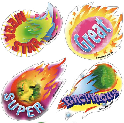 #700 Fireworks Stickers Multipack