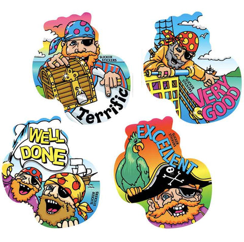 #707 Pirates Stickers Multipack