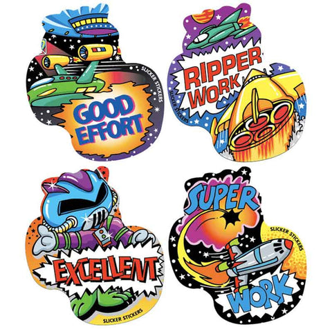#715 Space Stickers Multipack