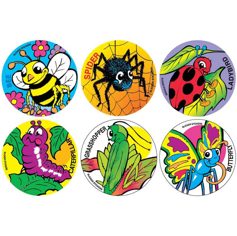 #905 Insect Stickers Themepack