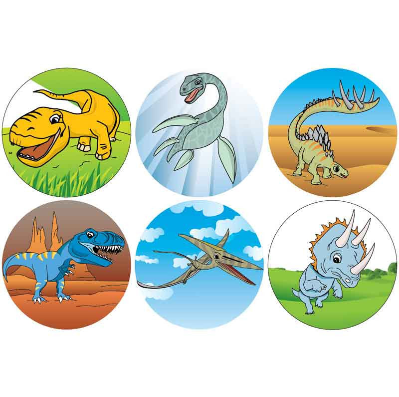 #917 Dinosaur Stickers Themepack