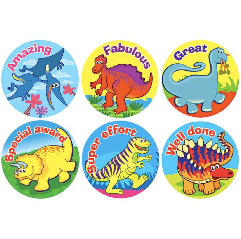 #919 Dinosaur Stickers Themepack