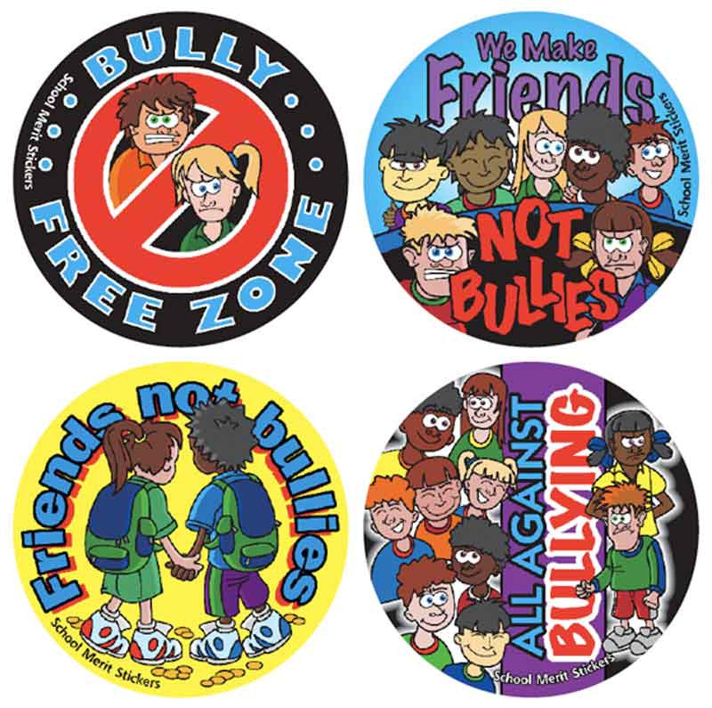 #925 Bullying Stickers Multipack