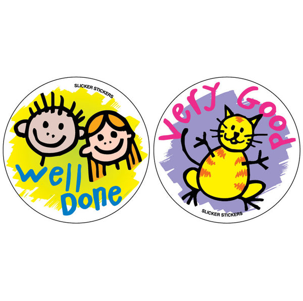 149 Very Good Well Done Stickers Multipack School Merit