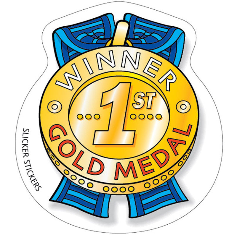#261 1st Place Medal Stickers