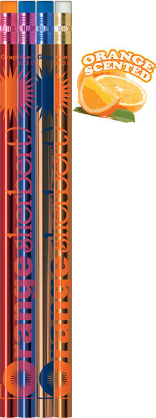 #P700 Orange Sherbert Scented Lead Pencils