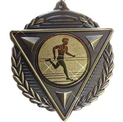 #M15GM Gold Athletics Medallion - Male