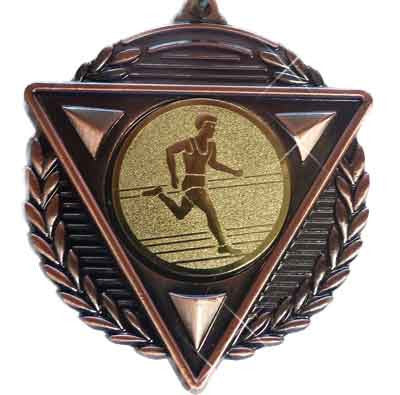 #M15BM Bronze Athletics Medallion - Male