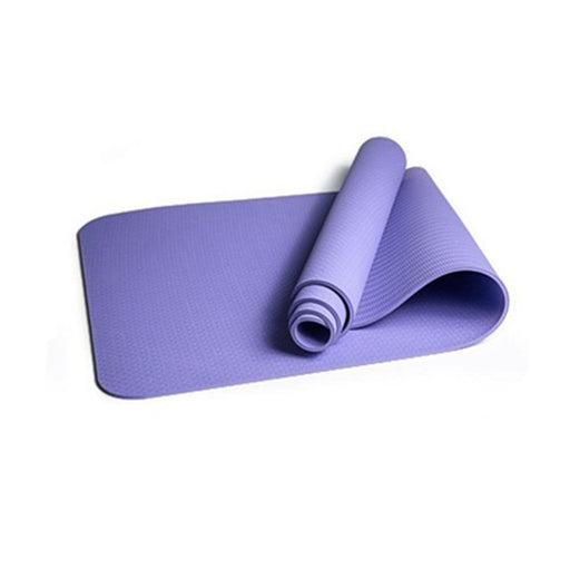 6MM TPE Non-slip Yoga Mats For Fitness Slim Yoga Gym Exercise Mats environmental Tasteless Pad Fitness Mat Sport 8 Colors