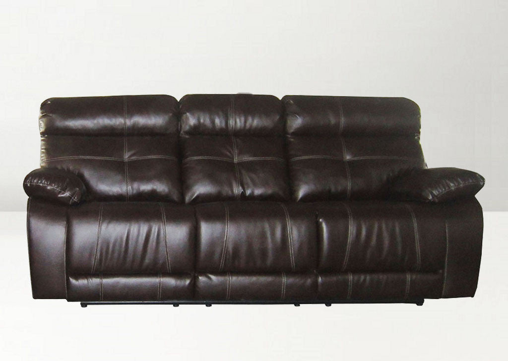 Modern Recliner Sofa 3 Seater Z9747 Brown
