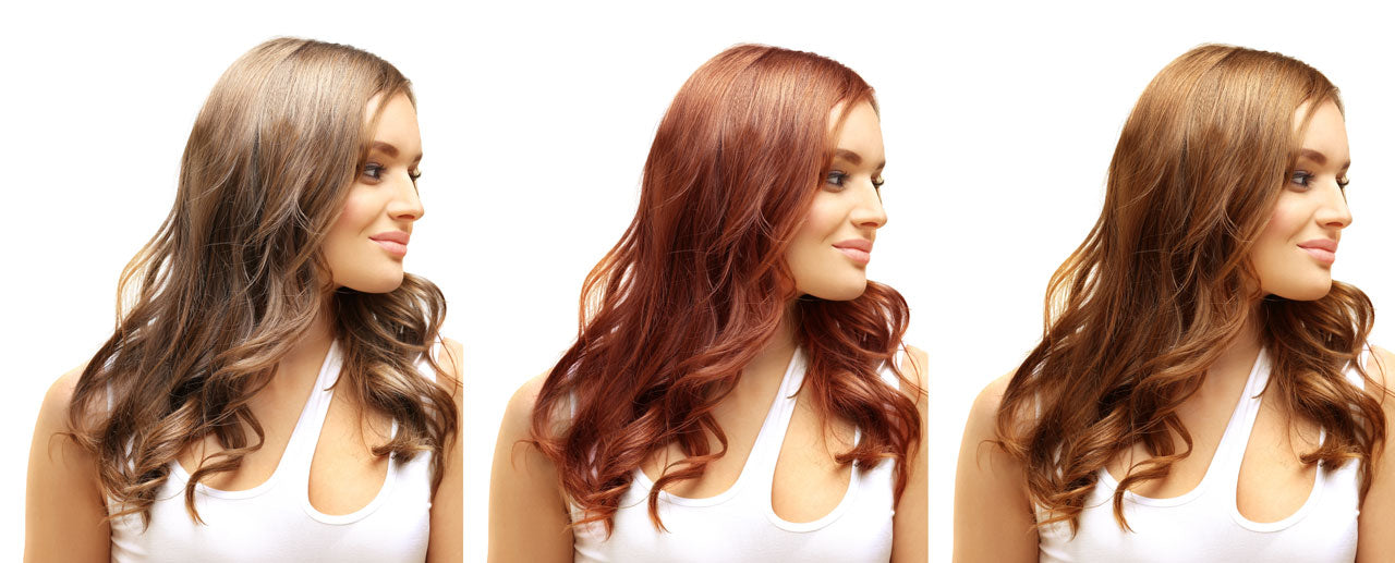 henna mix for hair colours