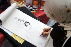 Asia Alfasi, at Sunderland Comicon