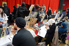 Artsist at Sunderland Comicon
