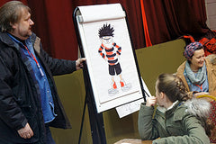 Nigel Parkinson, Beano artist at Sunderland Comicon