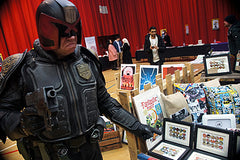 Judge Dredd, at Sunderland Comicon