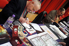 John Higgins at Sunderland Comicon
