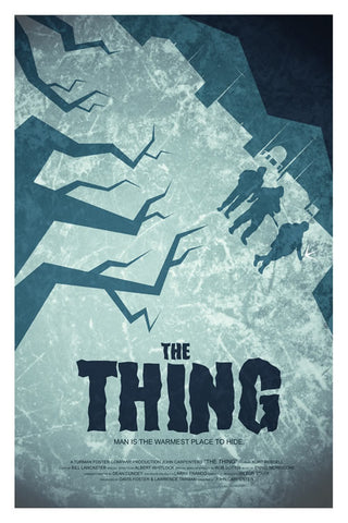 Ollie Boyd 'The Thing' art poster