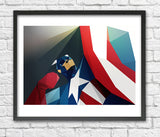 Captain America by Liam Brazier