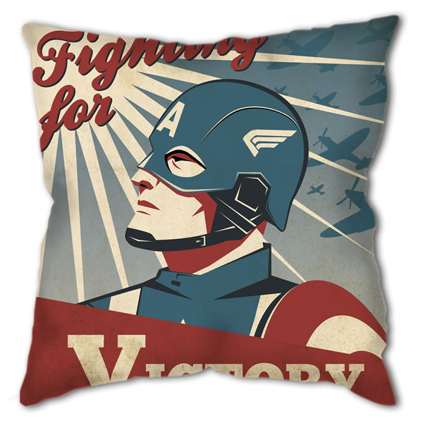 Cushion - Ollie Boyd's 'Captain America'