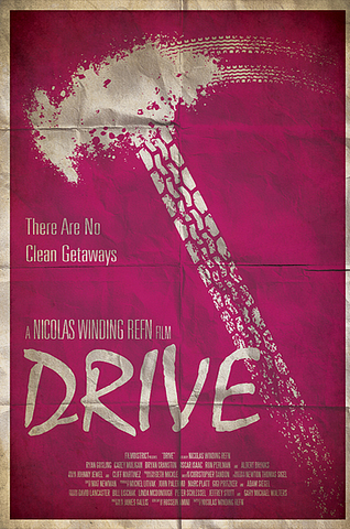 Ryan Black 'Drive' art poster