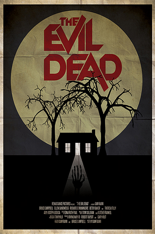 Ryan Black 'Evil Dead' art poster